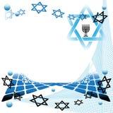 Arte judaica abstrata Imagens de Stock