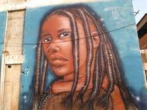 Arte-Mädchen Stockbild