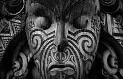 Arte maorí de Nueva Zelanda foto de archivo