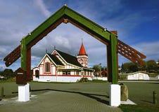 Arte maori Immagini Stock