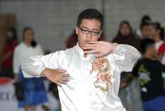 Arte marcial chino Fotografía de archivo libre de regalías