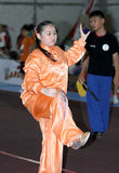 Arte marcial chino Imágenes de archivo libres de regalías