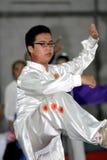 Arte marcial chino Foto de archivo libre de regalías