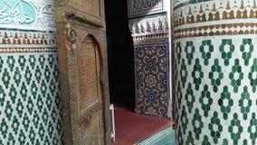 Arte marroquina tradicional da arquitetura Imagens de Stock Royalty Free
