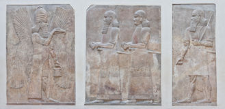 Arte mesopotámico Imagen de archivo libre de regalías