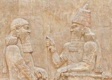 Arte mesopotamiana immagini stock libere da diritti