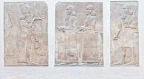 Arte mesopotamiana fotografia stock