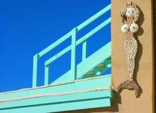 Arte messicana della spiaggia Immagini Stock