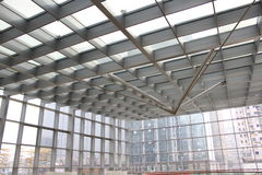 Arte moderna da construção Fotografia de Stock Royalty Free