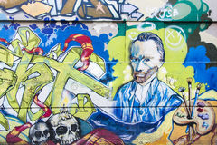 Arte moderna della via Immagine Stock