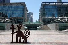 Arte moderno in Doubai Immagine Stock Libera da Diritti