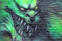 Arte Montreal da rua Imagem de Stock Royalty Free