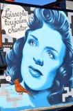 Arte Montreal da rua Imagens de Stock