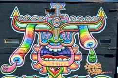 Arte Montreal da rua Fotografia de Stock