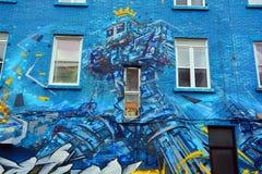 Arte Montreal da rua Foto de Stock