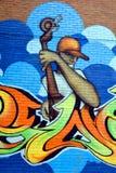 Arte Montreal da rua Imagens de Stock Royalty Free