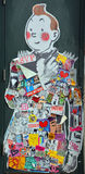Arte Montreal da rua Fotos de Stock Royalty Free