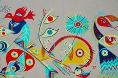 Arte Montreal de la calle Fotografía de archivo libre de regalías