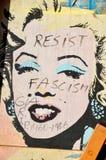 Arte Montreal de la calle Imágenes de archivo libres de regalías