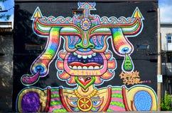 Arte Montreal de la calle Foto de archivo libre de regalías