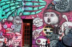 Arte Montreal de la calle Imagen de archivo libre de regalías