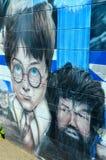 Arte Montreal de la calle Imagen de archivo