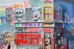 Arte Montreal de la calle fotos de archivo libres de regalías