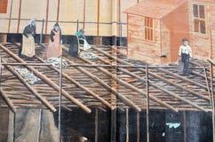 Arte Montreal della via Fotografia Stock Libera da Diritti