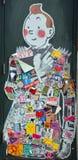 Arte Montreal della via Fotografie Stock Libere da Diritti