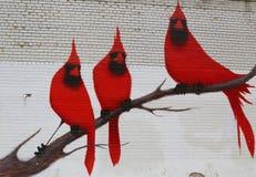 Arte mural en la sección de Astoria en Queens Imágenes de archivo libres de regalías