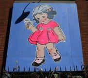 Arte mural na mais baixa zona leste em Manhattan Fotos de Stock Royalty Free
