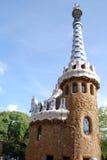 Arte no telhado em Barcelona fotos de stock royalty free