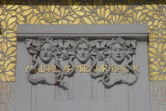 Arte Nouveau di Vienna Fotografie Stock Libere da Diritti