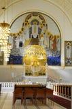 Arte Nouveau, iglesia de Jugendstil fotografía de archivo libre de regalías