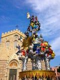 Arte-ofício de Vara em Messina Fotos de Stock