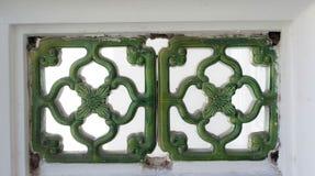 Arte oreintal verde Fotografia de Stock