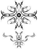 Arte ornamentale 71 delle decorazioni illustrazione di stock
