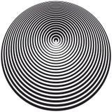 Arte ottica illustrazione vettoriale