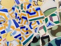Arte público: Mosaico Foto de archivo