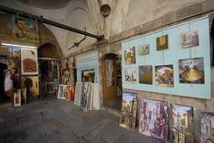 Arte para la venta en Damasco Fotos de archivo libres de regalías