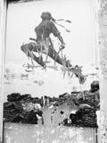 arte Parigi della via Immagini Stock