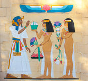Arte pharaonic egípcia antiga foto de stock