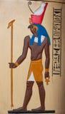 Arte pharaonic egípcia antiga fotos de stock