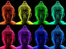 Arte pop Buddha Imágenes de archivo libres de regalías