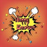 Arte pop feliz de Pascua libre illustration
