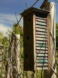 Arte popular: casa do pássaro Foto de Stock Royalty Free
