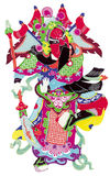Arte popular chino, corte de papel, Foto de archivo libre de regalías