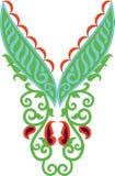Arte popular húngara ilustração royalty free