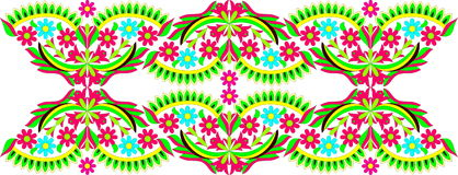 Arte popular húngara Imagem de Stock Royalty Free