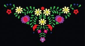 Arte popular húngaro ilustración del vector